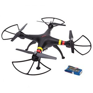 SYMA-X8C-24G-4CH-6-Axis-Gyro-RC-Quadcopter-RTF-Drone-with-20MP-HD-Camera-Speed-Mode-Headless-Mode-and-3D-Eversion-2000mAh-25C-Lipo-Battery-0