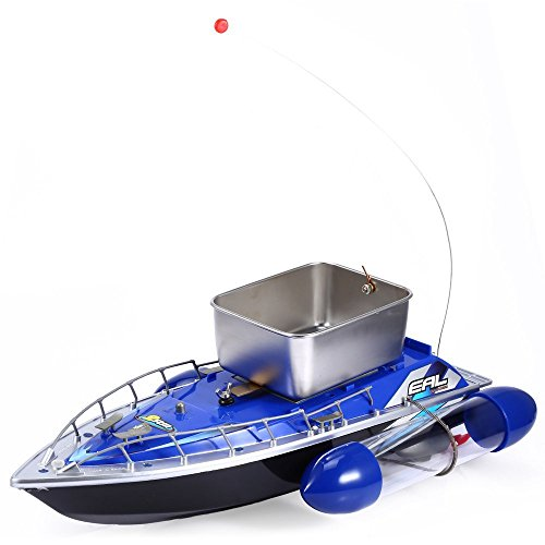 Smartlife mini rc wireless fishing lure bait boat 200m for Fish catching rc boat
