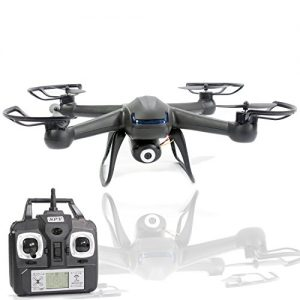 Spy-Drone-with-Camera-X007-Quadcopter-3rd-Gen-HD-Camera-720p-Video-2MP-6-Axis-Gyroscope-74V-Battery-3D-Flip-Roll-4-Ch-24-ghz-Long-Range-with-KiiToys-USA-Warranty-0