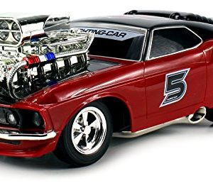 Super-5-Ford-Mustang-Boss-429-Remote-Control-RC-Muscle-Car-116-Scale-Ready-to-Run-RTR-w-Working-Head-Tail-Lights-Colors-May-Vary-0