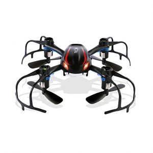 TECBEAN-X902-Black-Spider-Mini-RC-Quadcopter-Drone-with-3D-Flip-24Ghz-6-Axis-Gyro-for-Beginner-Black-0