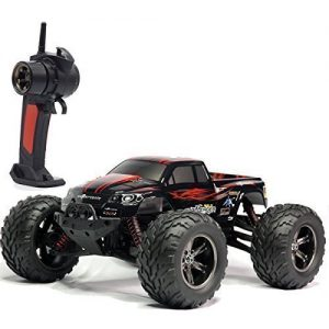 TOZO-C2032-RC-CARS-High-Speed-30MPH-112-Scale-RTR-Remote-control-Brushed-Monster-Truck-Off-road-Car-Big-Foot-RC-2WD-ELECTRIC-POWER-BUGGY-W24G-Challenger-Red-0
