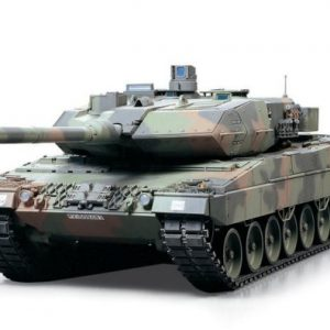 Tamiya-116-Leopard-2A6-RC-Battle-Tank-Full-Option-Kit-0