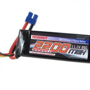 Tenergy-111V-2200mAh-25C-3S-LiPO-Battery-Pack-12-AWG-w-EC3-Connector-for-RC-Hobby-Cars-and-450-class-3D-helicopters-Park-450-and-Park-480-and-Power-10-motors-0