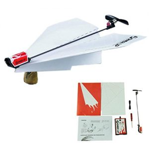 Tenworld-Baby-Gift-Power-up-electric-paper-plane-airplane-conversion-kit-Toy-0