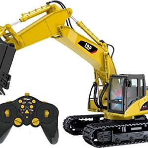 Top-Race-15-Channel-Full-Functional-Professional-RC-Excavator-Battery-Powered-Remote-Control-Construction-Tractor-Heavy-Duty-Metal-TR-211-0
