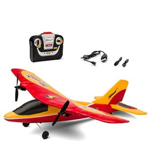 Top-Race-Airhawk-TR-P28-2-Channel-Outdoor-RC-Airplane-Red-0