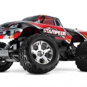 Traxxas-Stampede-110-Scale-Monster-Truck-with-TQ-24GHz-Radio-System-Vehicle-Red-0