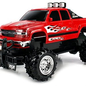 VT-Chevy-Silverado-4X4-Remote-Control-Hobby-RC-Monster-Truck-Off-Road-Big-Size-114-Scale-Ready-To-Run-w-Working-Suspension-Colors-May-Vary-0