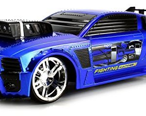 VT-Fighting-Machines-Ford-Mustang-Remote-Control-RC-Car-116-Scale-Ready-to-Run-RTR-w-Bright-Lights-Realistic-Machine-Gun-Sounds-Colors-May-Vary-0