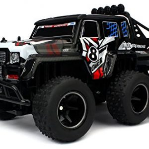 Velocity-Toys-Speed-Wagon-6X6-Remote-Control-RC-High-Performance-Truck-24-GHz-Control-System-Big-Scale-110-Size-Ready-To-Run-Colors-May-Vary-0