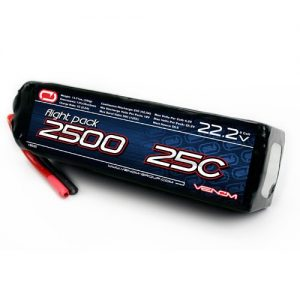 Venom-25C-6S-2500mAh-222V-LiPO-Battery-Air-Pack-RC-Airplane-600-Helicopter-Heli-0