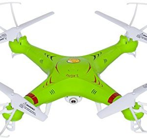 X5C-RC-Quadcopter-Drone-with-Camera-720p-HD-Headless-Mode-24GHz-4-CH-6-Axis-Gyro-RTF-Includes-BONUS-BATTERY-Doubles-Flying-Time-0