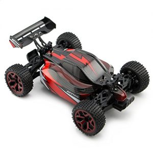 Zhencheng-118-Scale-Electric-RC-Off-Road-Truck-24Ghz-4WD-Extreme-Speed-Buggy-Racing-Car-Toy-VehicleRed-0