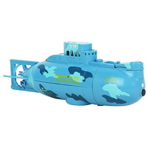 eMart-Mini-RC-Electric-Toy-Remote-Control-Boat-Submarine-Ship-Waterproof-Diving-in-Water-Gift-for-Kids-Blue-0