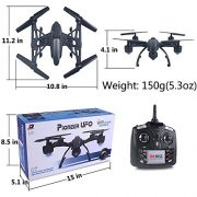 AMOSTING-FPV-RC-Quadcopter-Drone-with-03MP-Camera-WiFi-Control-Black-0-2