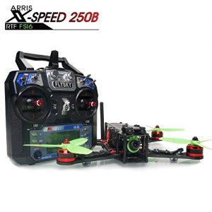 ARRIS-X-Speed-250B-250mm-Quadcopter-Racer-FPV-250-Racing-Drone-RTF-With-F3-Flight-Controller-HD-Camera-FPV-TX-FlySky-FS-i6-M2-Transmitter-0