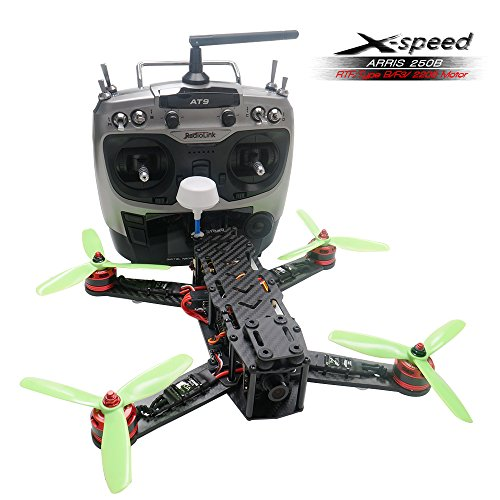 ARRIS-X-Speed-250B-250mm-Quadcopter-Racer-FPV-250-Racing-Drone-RTF-With-F3-Flight-Controller-HD-Camera-FPV-TX-Radiolink-AT9-Transmitter-0
