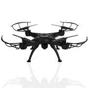 BABADIO-2-Remote-Control-Mode-4-Channel-24G-6-Axis-Gyro-RC-Headless-Quadcopter-X5SW-1-Drone-with-Wifi-Camera-FPV-for-Real-Time-Video-Transmission-Black-0-3