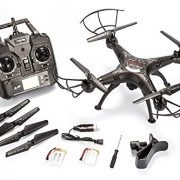 BABADIO-2-Remote-Control-Mode-4-Channel-24G-6-Axis-Gyro-RC-Headless-Quadcopter-X5SW-1-Drone-with-Wifi-Camera-FPV-for-Real-Time-Video-Transmission-Black-0-4
