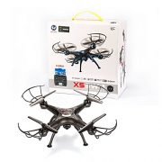 BABADIO-2-Remote-Control-Mode-4-Channel-24G-6-Axis-Gyro-RC-Headless-Quadcopter-X5SW-1-Drone-with-Wifi-Camera-FPV-for-Real-Time-Video-Transmission-Black-0-5
