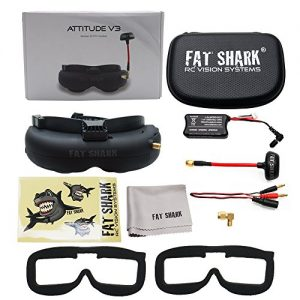 Fat-Shark-fatshark-Attitude-V3-FPV-Video-Goggles-Headset-Modular-RF-Goggle-w-3D-Support-0