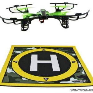Heliport-Ops-Landing-Pad-and-Launch-Pad-for-Remote-Control-Helicopters-Quadcopters-Mini-Micro-Nano-Racing-Drones-RC-Aircraft-with-Camera-Helipad-Aircraft-Not-included-0