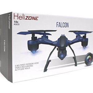 Helizone-Falcon-58-Ghz-First-Person-View-FPV-Drone-with-Live-LCD-Monitor-HD-Video-Recording-Altitude-Hold-Headless-Mode-Quadcopter-0