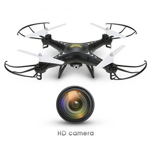 Holy-Stone-HS110W-FPV-Drone-with-720P-HD-Live-Video-Wifi-Camera-24GHz-4CH-6-Axis-Gyro-RC-Quadcopter-with-Altitude-Hold-Gravity-Sensor-and-Headless-Mode-Function-RTF-0
