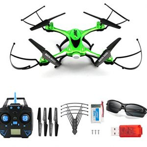 JJRC-H31-Waterproof-Headless-RC-Quadcopter-Drone-360Rolling-Action-3D-CF-One-Key-Return-24G-4CH-6Axis-RC-Quadcopter-RTF-with-LED-Light-for-Night-Flight-Green-0