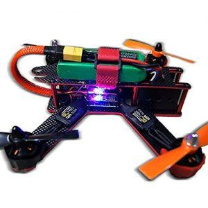 Targethobby-Carbon-Fiber-QAV210-FPV-4-Axis-Quadcopter-Kit-W-Hobbymate-2204-Motor-Upgrade-BLHeli-15A-ESCsProps-Motor-Protector-Upgrade-5-IN-1-Function-5v-12v-PDB-Wrench-Battery-Paste-Belt-0