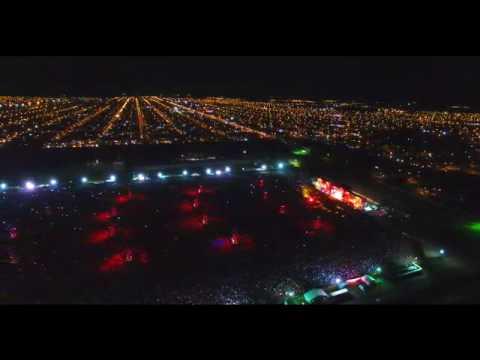 Increíbles imágenes del recital del Indio Solari en Olavarría desde el drone de Pablo Funes
