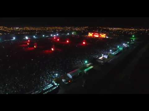 El Indio Solari en Olavarría. Video desde el drone de Pablo Funes.