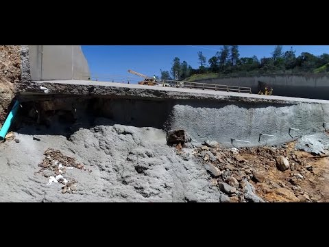 New Drone Video – Shotcrete Video – Lake Oroville Spillway Update  4-5-17