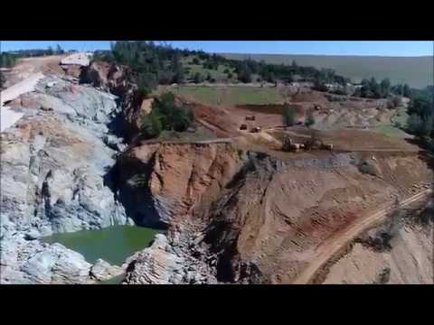 Oroville Dam Update 6 April | New Drone video and Press Briefing | OROVILLE DAM SPILLWAY | 2017