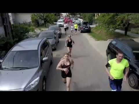 drone-video Kőröshegy-futóverseny 2018.05.06