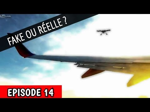 FAKE OU RÉELLE ? – Accident Drone Vs Avion ( EPISODE 14 )