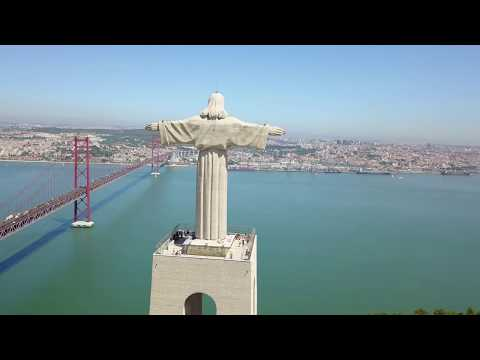 LISBOA – LISBON – LISSABON – PORTUGAL – AERIAL VIEW – DRONE VIDEO – 4K