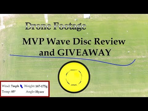 MVP Wave Disc Review with DRONE + GIVEAWAY