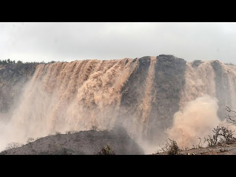 Flooded Oman Desert (Drone Video)