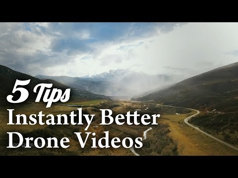 DRONE VIDEO TUTORIAL – 5 Simple Tips for Instantly Better Drone Videos