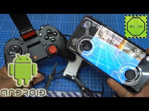 Conectar Drone TELLO a Gamepad control Buetooth con Android  DRONEPEDIA
