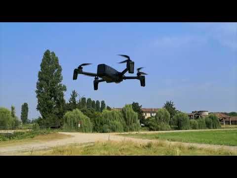 Drone Parrot Anafi primo test in volo, recensione e video onboard