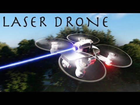 This DIY Laser Drone Is INSANELY POWERFUL! – Hunting With a Drone!!!