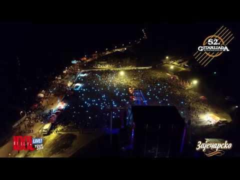 Billy Idol Live in Zajecar, Gitarijada – Drone 4k Video