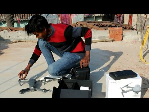 My first drone review    mavic pro    drone video    nagpuri hindi shooting