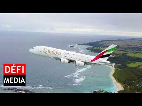 Un drone filme le décollage d'un A380 à Plaisance, l'aviation civile enquête