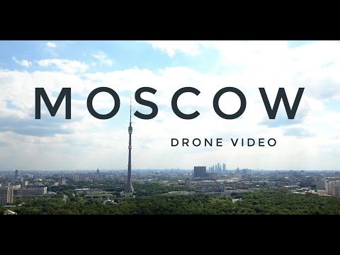 Moscow – 4K – Drone Video