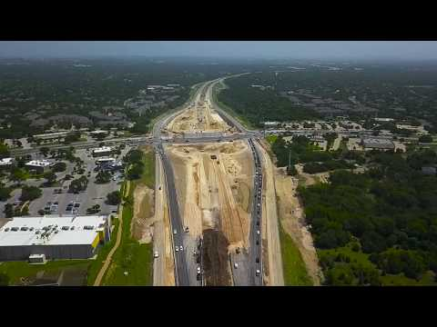 MoPac Intersections Drone Video