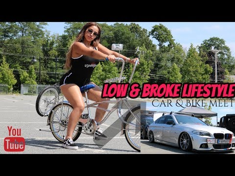 MUST SEE| LOW & BROKE BROCKTON CAR MEET | DRONE VIDEO